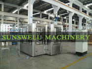 PET Bottle Carbonated Filling Machine , Soft Drink Automatic Filling Line