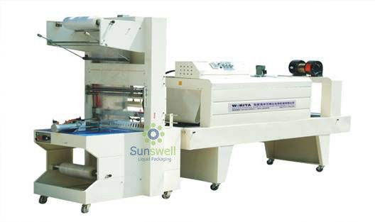 High Efficient Shrink Packaging Equipment , PE Film Automatic Wrapping Machine
