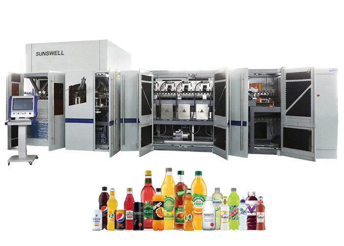 Durable Blowing Filling Capping Combiblock Automatic Bottling Water Plant