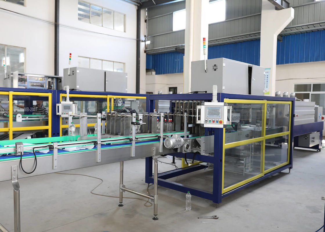 CE SGS PE Film Shrink Packaging Equipment , Heat Shrink Packaging Machine