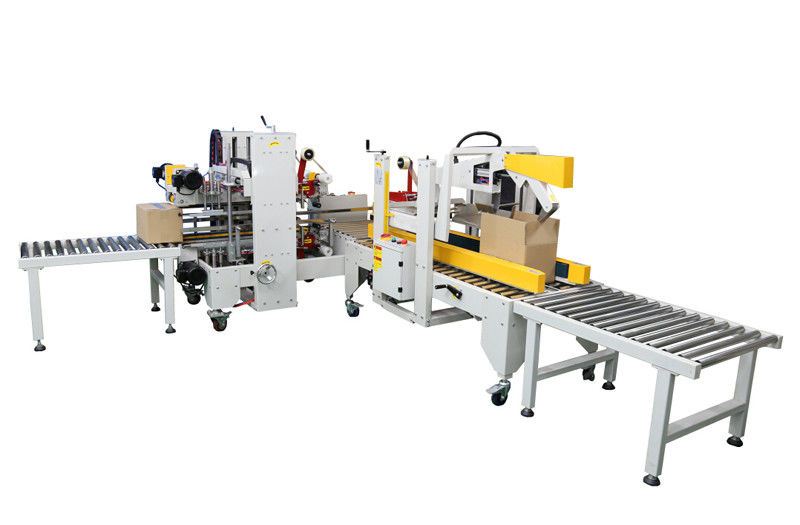 Full Automatic Shrink Packaging Equipment Four Corner Sealing For Food