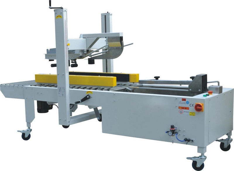 Semi Auto Shrink Packaging Equipment Folding Cover And Fold Bottom Box Sealing Machine