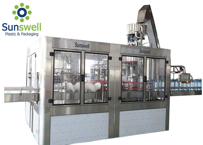 5 Litres Water Filling Machines With Washing Filling Sealing 3 In 1 Monoblock