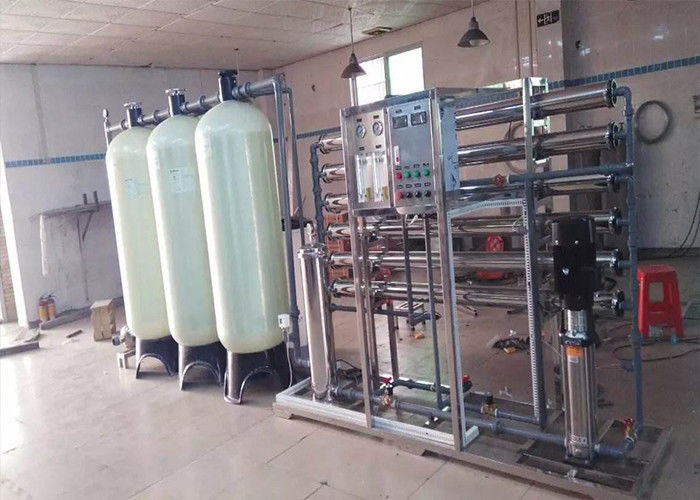 Pure Drinking Water Reverse Osmosis Filter System With 1500Gpd - 100Tph