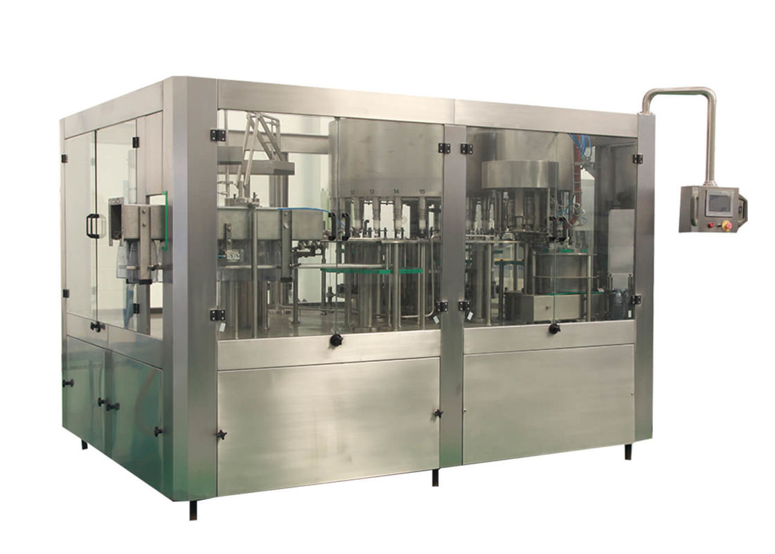 Turnkey Water Filling Machines / Production Line For Small Bottled 200ml - 2000ml