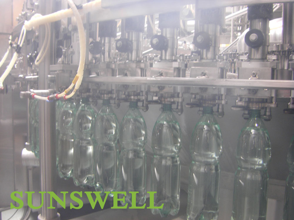 Full Automatic Carbonated Filling Machine For Pet Bottle Soft Drink Beverage