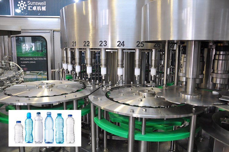 Complete Beverage Filling Machine Drinking Pure Mineral Water Production Line