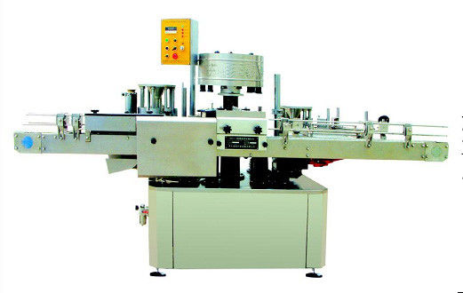 Industrial  PLC controlled Full Automatic Bottle Rotary Labeling / Labelling Machines